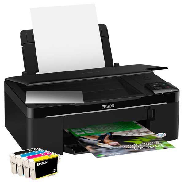Скачать драйверы на принтер epson stylus sx125