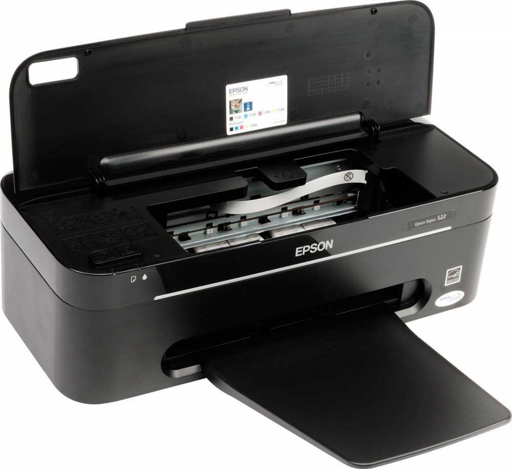 Скачать драйвера для принтера epson stylus s22