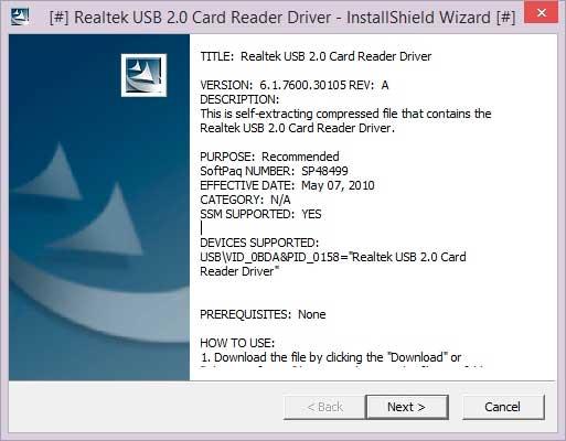 Realtek Pcie Card Reader Driver Windows 7 64 Bit Download