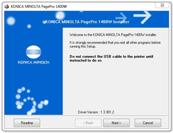 Скачать драйвер для konica minolta pagepro 1300w.