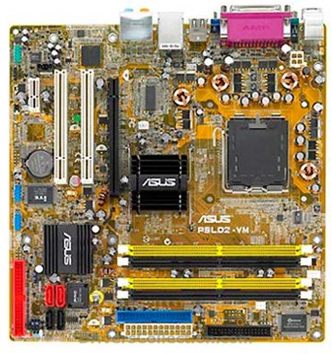 Asus P5LD2-VM SE Enthernet