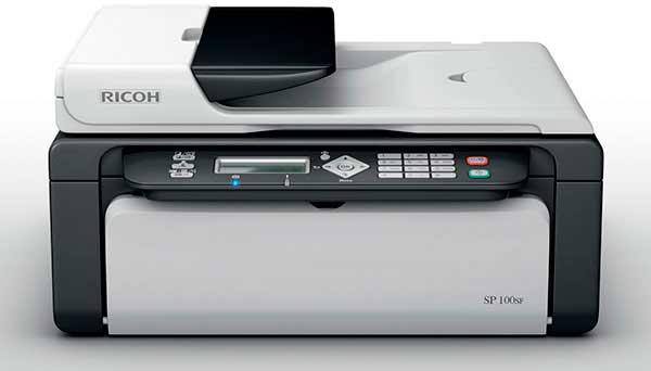 Скачать драйвера на принтер ricoh sp 100 официальный сайт