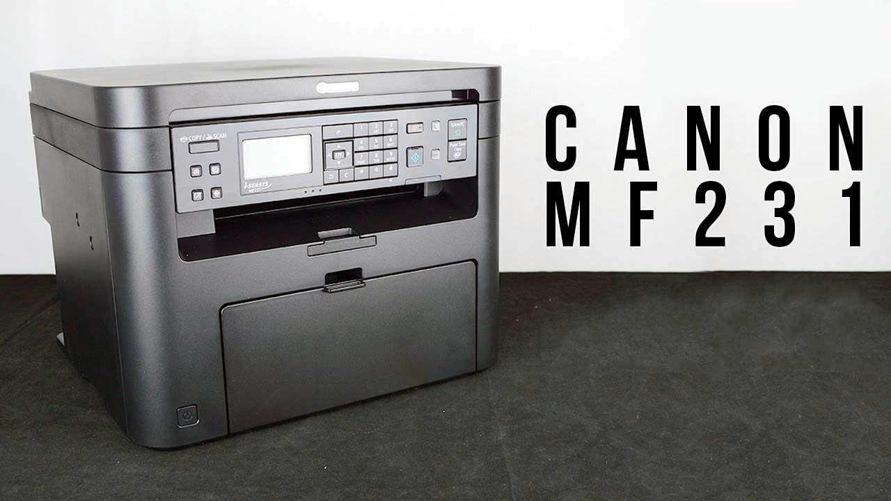 Драйвер Canon i-SENSYS MF231