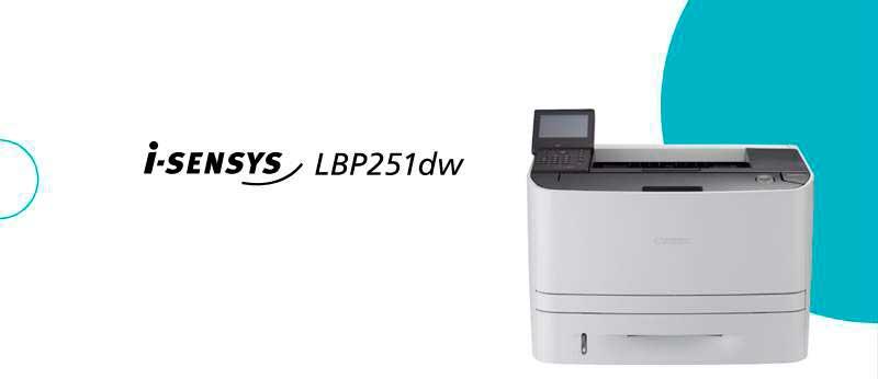 Драйвер для Canon i-SENSYS LBP251dw