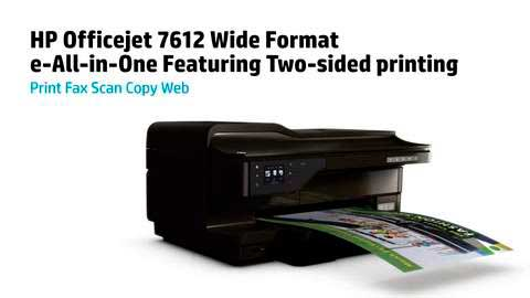 HP OfficeJet 7612 драйвер