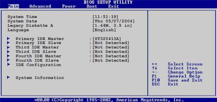 Настройка жесткого диска в BIOS